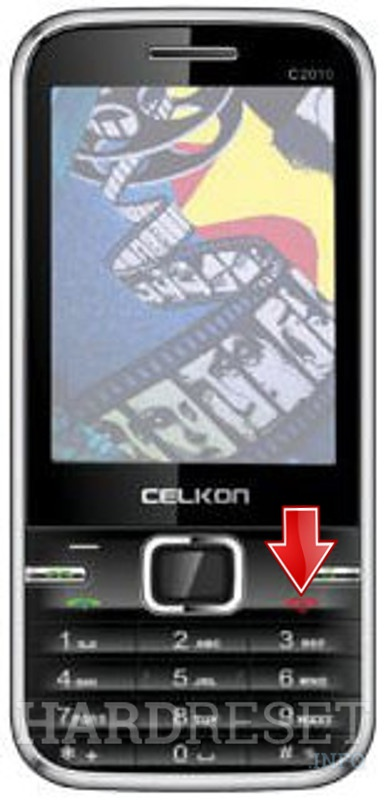celkon c 349 hard reset code it's not working