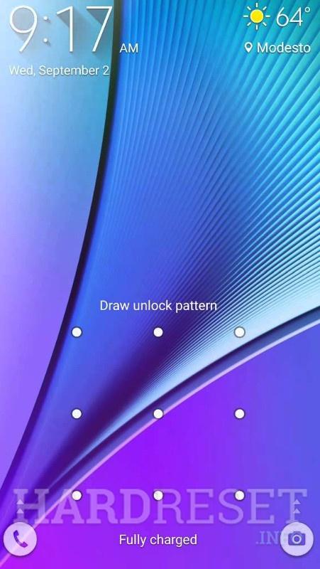 Убрать экранную блокировку с SONY KDL-43WF805