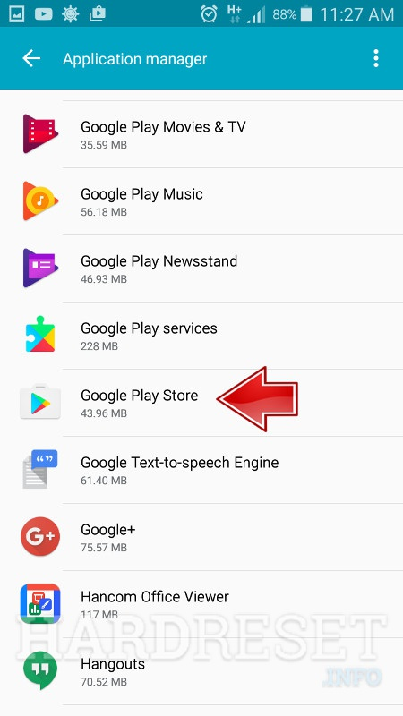 Google Play Errors in SAMSUNG Galaxy J7 Prime, how to - HardReset.info