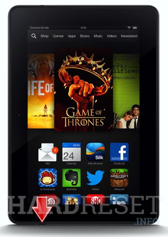 Hard Reset AMAZON Kindle Fire HDX 7 LTE - HardReset info