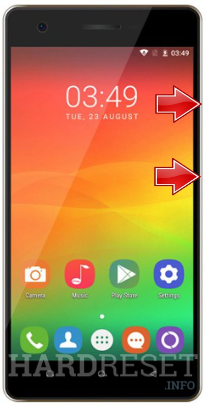 Remove screen password on OUKITEL C4