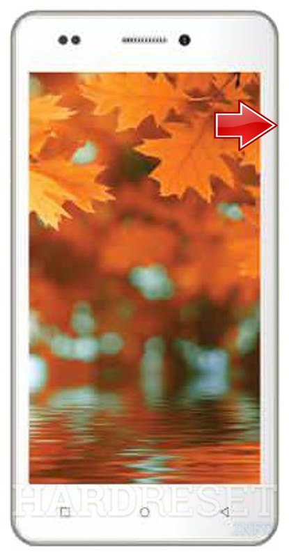 Remove screen password on INTEX Aqua Life V