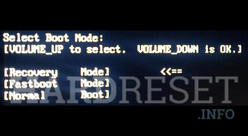 Fastboot Mode LG K7 - HardReset info
