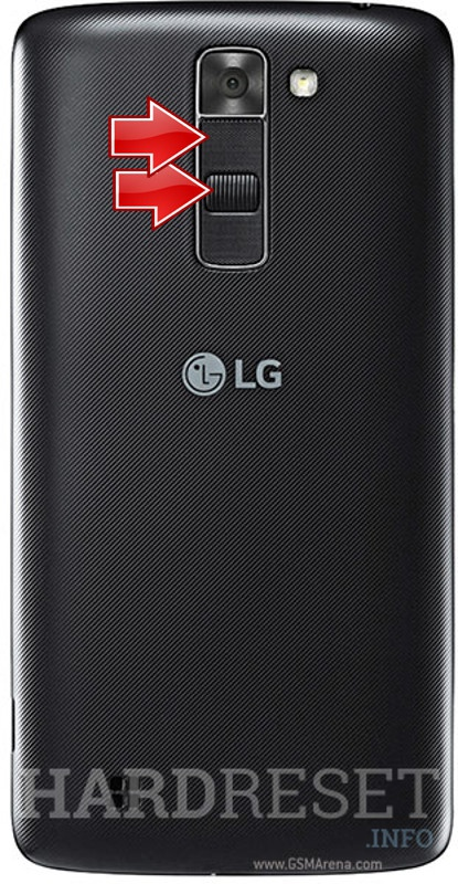 Remove screen password LG K7 LTE