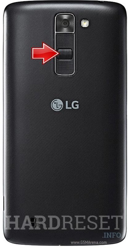 Recovery Mode LG K7 - HardReset info