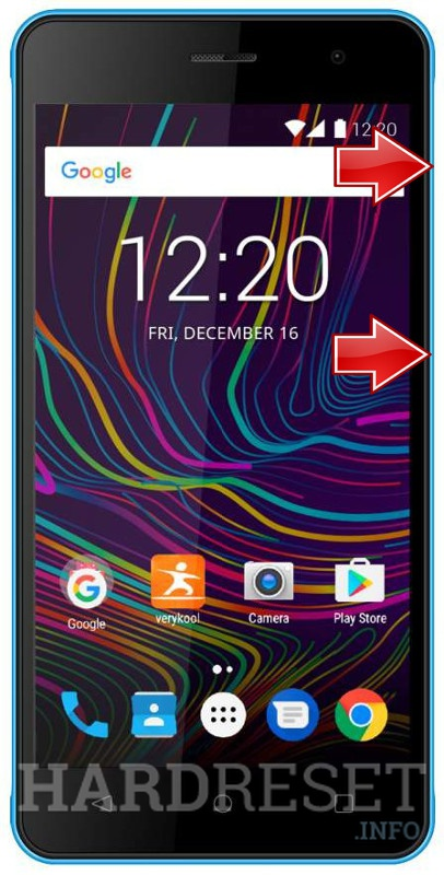Remove screen password on VERYKOOL Wave S5019