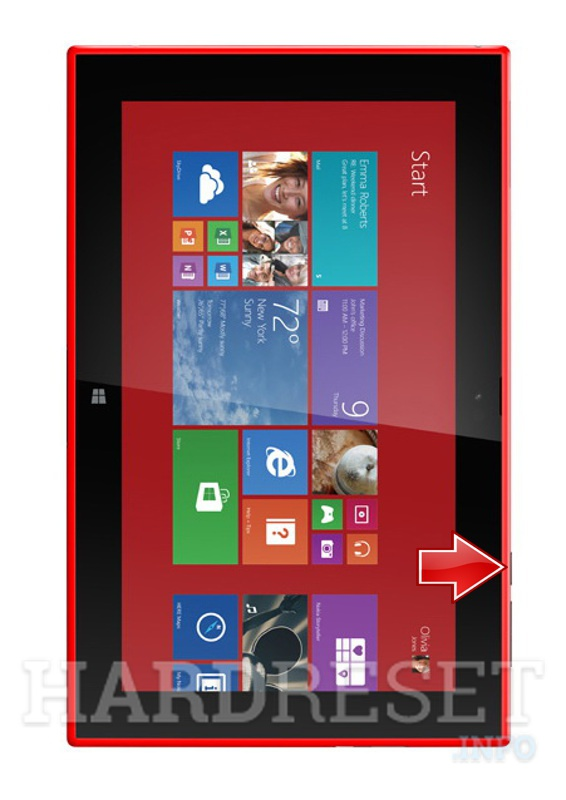 Hard Reset NOKIA RX-114v Lumia 2520 (Verizon) - HardReset info