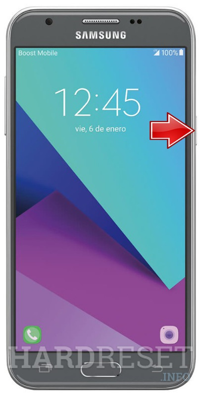 Download Mode SAMSUNG J327P Galaxy J3 Emerge - HardReset info