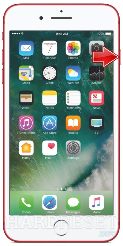 Restore APPLE iPhone 7 Plus RED Special Edition