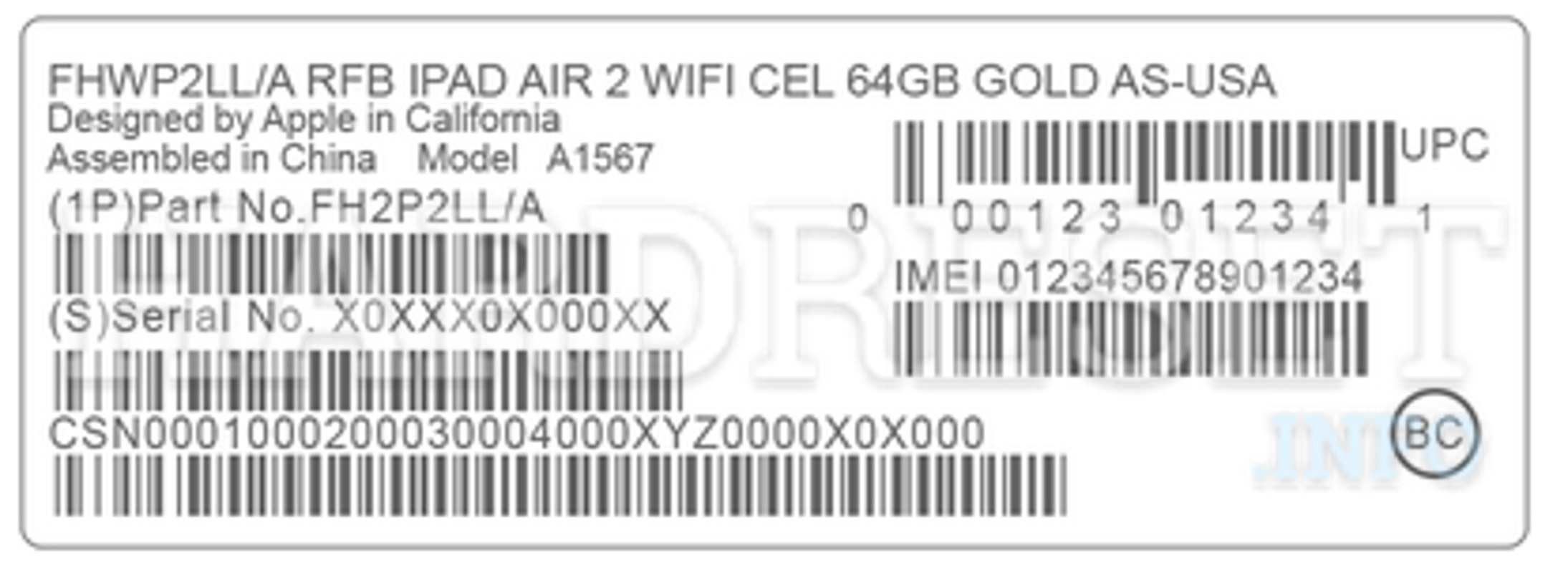 find apple serial number with imei