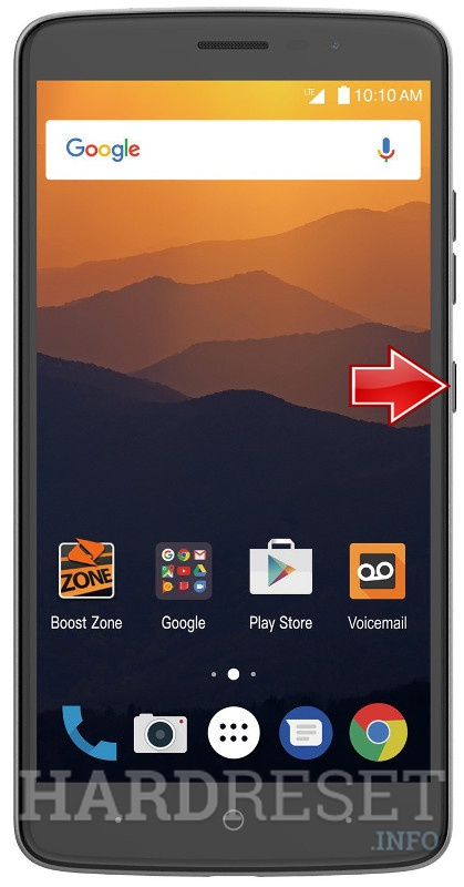 Recovery Mode ZTE Max XL N9560 - HardReset info