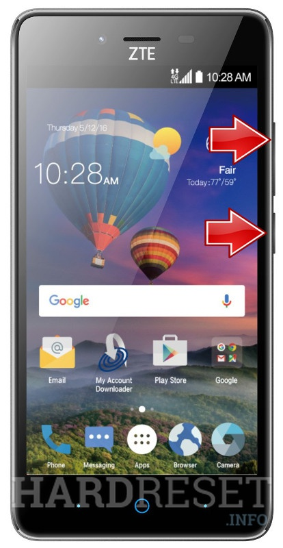Permanently delete data from ZTE ZFive L LTE Z861BL