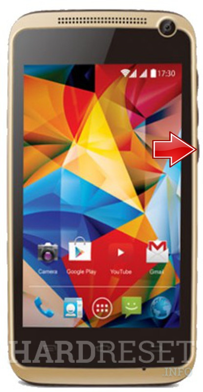 Permanently delete data from KARBONN Alfa A91 Champ