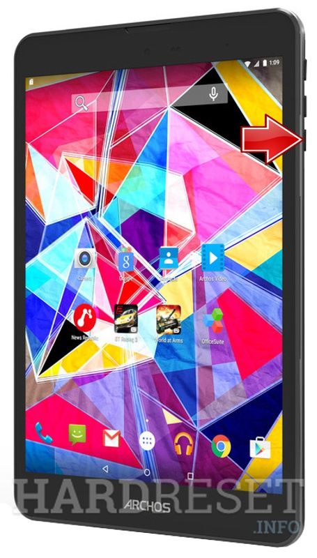 Hard Reset ARCHOS Diamond Tab 7.9