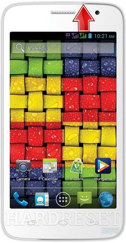 Hard Reset VIDEOCON A52