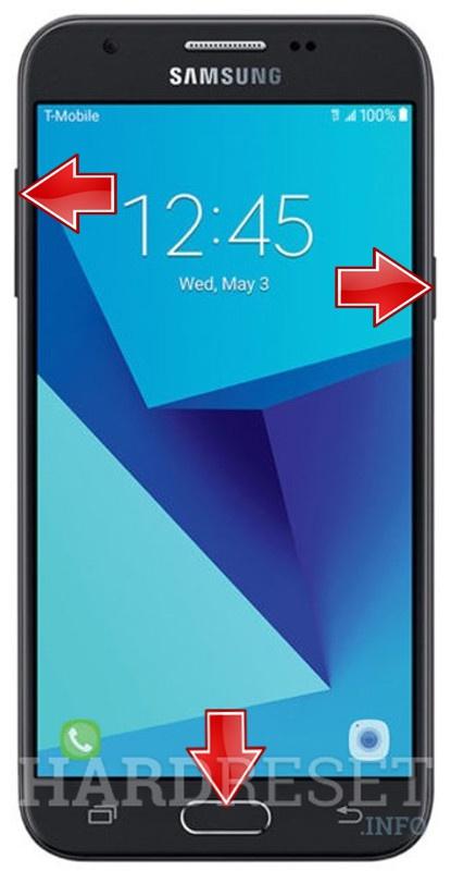 Hard Reset SAMSUNG J327T Galaxy J3 Prime - HardReset info