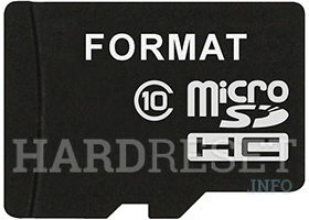 Format SD Card on Android device