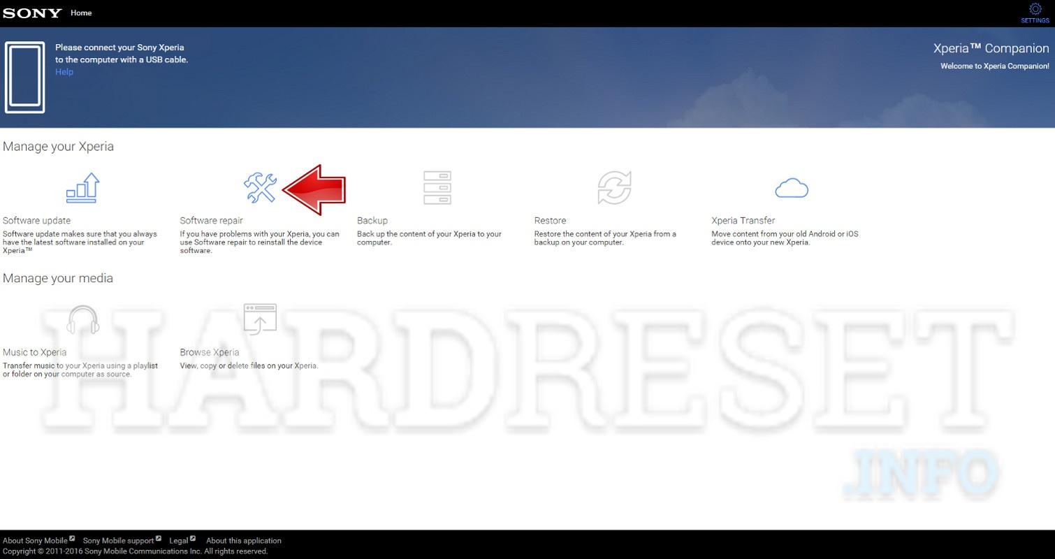 Hard Reset SONY Xperia XA1 - HardReset info
