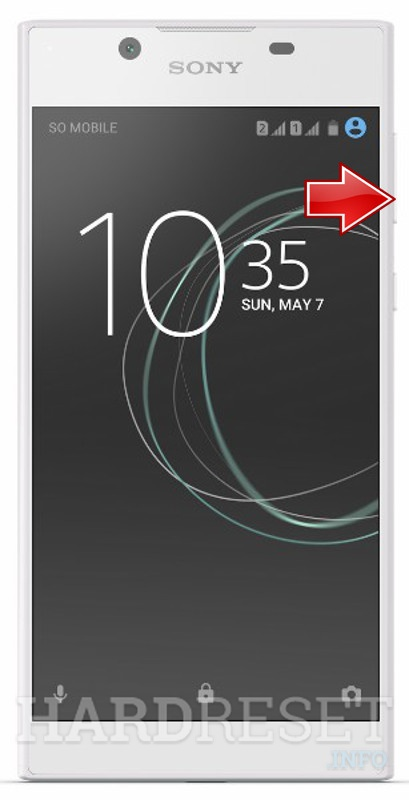 HardReset SONY Xperia L1 Dual G3312