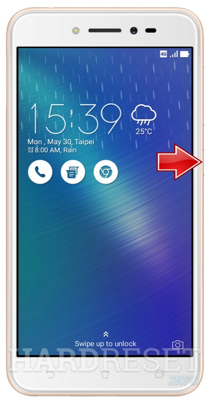 Remove Screen Lock on ASUS ZenFone Live ZB501KL