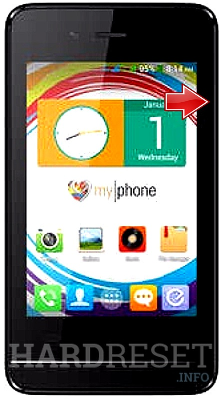 Hard Reset myPhone Rio Junior TV