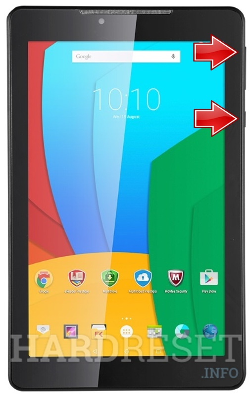 Wipe data on PRESTIGIO Multipad Wize 3757 3G