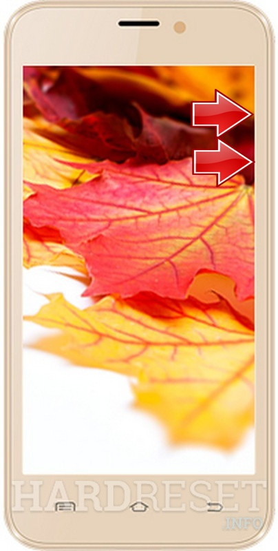 Remove screen password on INTEX Aqua Q8