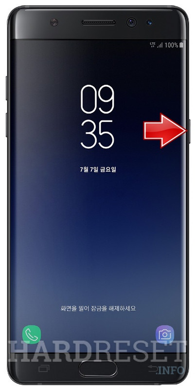 Hard Reset SAMSUNG Galaxy Note FE - HardReset info