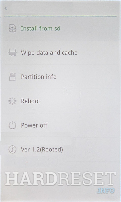 Permanently delete data from OPPO 1107