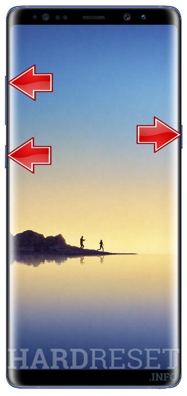 HardReset SAMSUNG N950U Galaxy Note8
