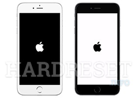 Solve the black screen in iPhone - article image on hardreset.info