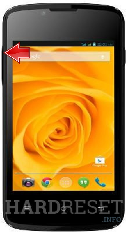 Remove screen password on LAVA Iris 348