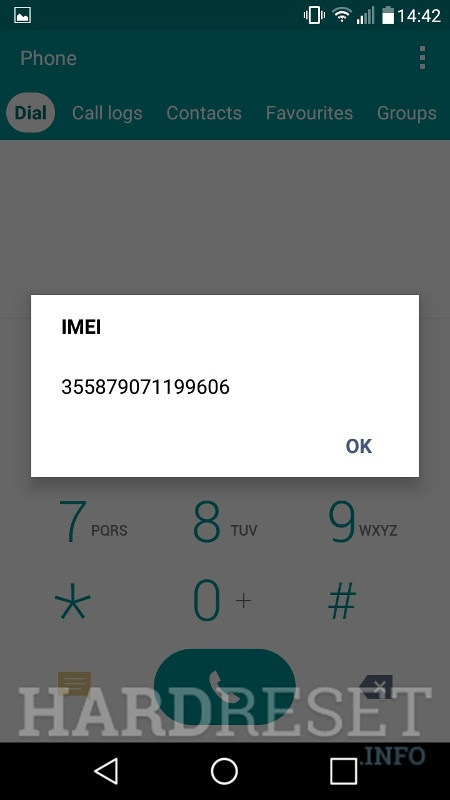 Lg Imei Unknown