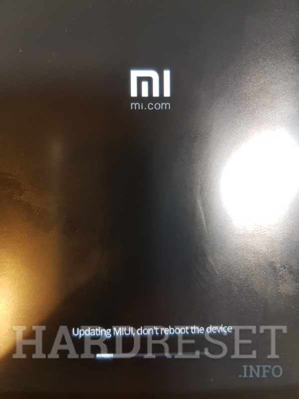Xiaomi reseting and update firmware