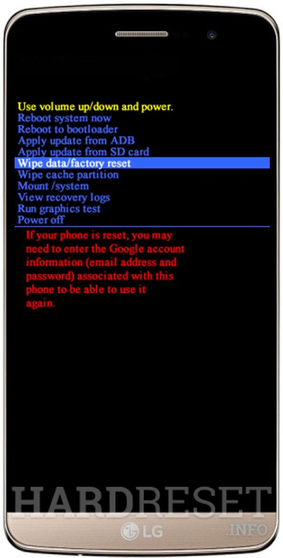 Hard Reset LG Zone X180G - HardReset info