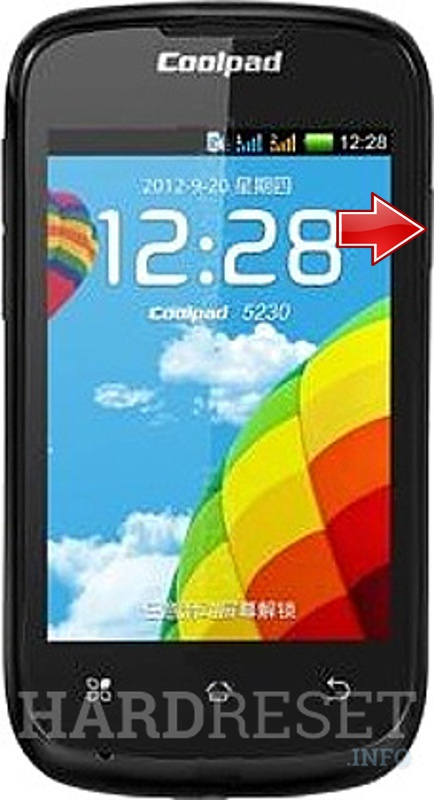 Hard Reset CoolPAD 5230