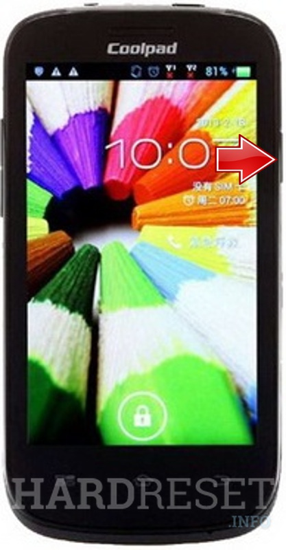 Hard Reset CoolPAD 7235