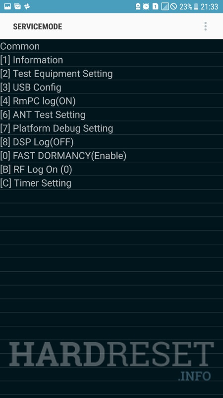 Codes SAMSUNG A720F Galaxy A7 (2017) - HardReset info