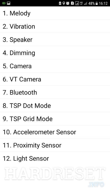 Codes SAMSUNG G570F Galaxy J5 Prime - HardReset info