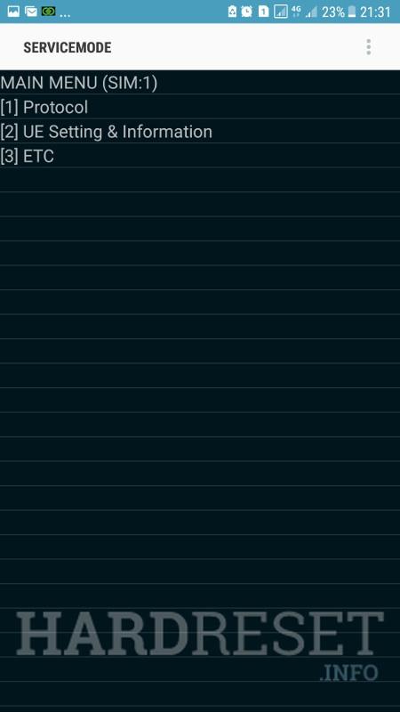 Codes SAMSUNG Galaxy J7 Prime - HardReset info