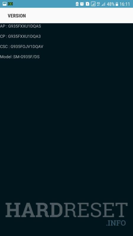 Codes SAMSUNG Galaxy J2 Pro SM-J210F - HardReset info
