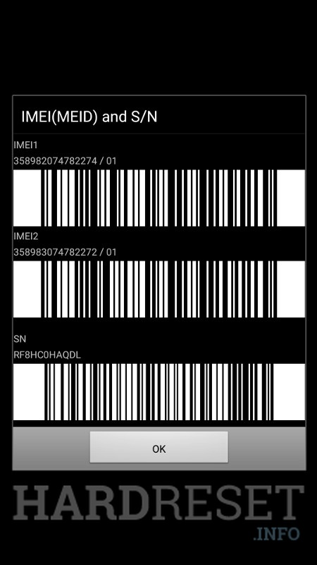 Codes SAMSUNG Galaxy J7 Pro - HardReset info