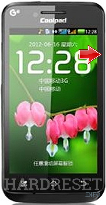 Hard Reset CoolPAD 8710