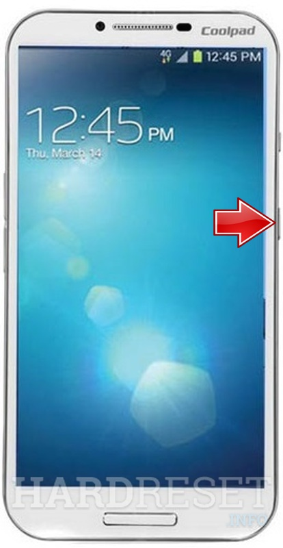 Factory Reset CoolPAD 8970