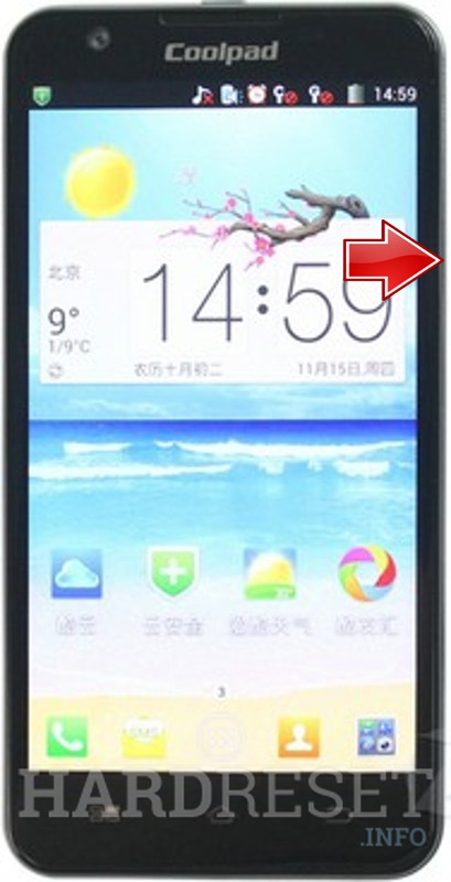 Hard Reset CoolPAD 9960