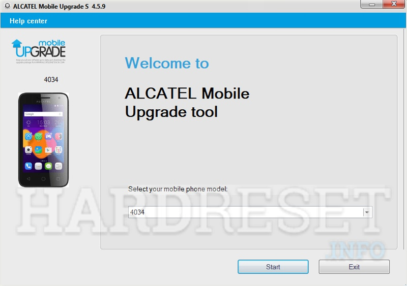 Alcatel Phone Update Tool