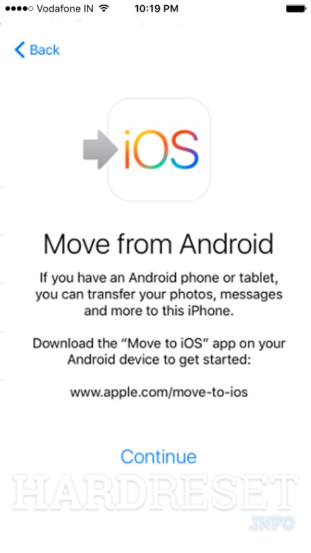 Move from Android