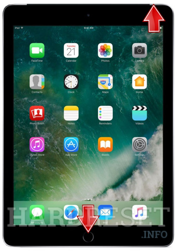 HardReset APPLE iPad 9.7