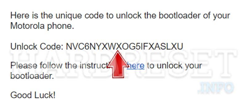 How to unlock bootloader in Motorola / Lenovo Moto phone