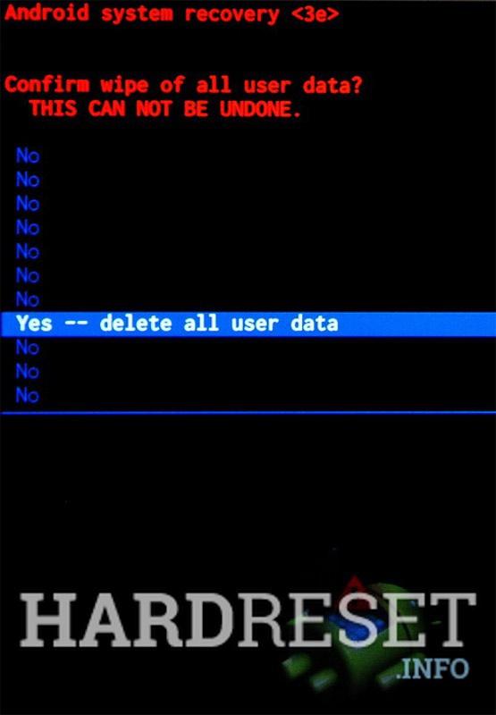 Master Reset ZTE Blade A6